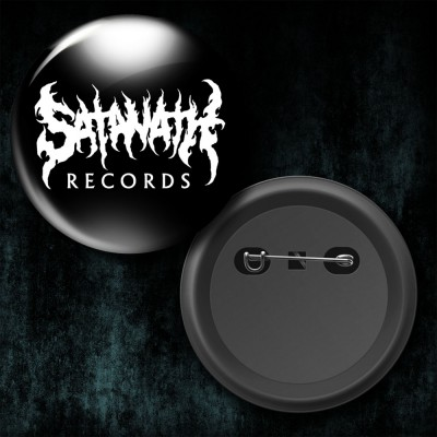 032SAT: Badge - Satanath Records (Big)
