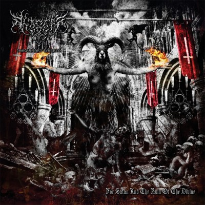 SAT107 / MHP 15-143 / DR 015 CD: Alastor Sanguinary Embryo - For Satan And The Ruin Of The Divine (2015)