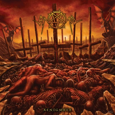 SAT158 / MURDHER 016: Sin Of God - Aenigmata (2016)