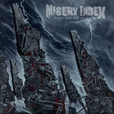 SAT244 / KTTR CD 128: Misery Index - Rituals Of Power (2019)
