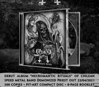 Demonized Priest - Necromantic Rituals