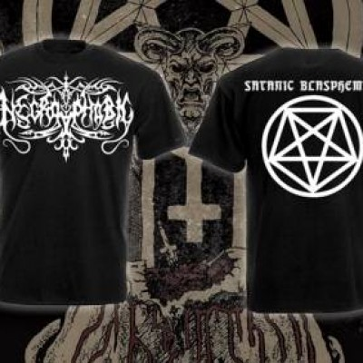 T-Shirt - Necrophobic (Satanic Blasphemies)