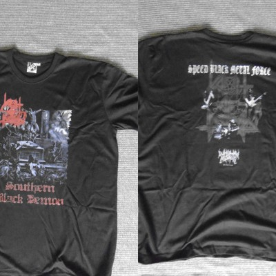 T-Shirt - Vomit Of Doom (Southern Black Demon)