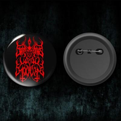 005SODP: Badge - Satan's War Machine