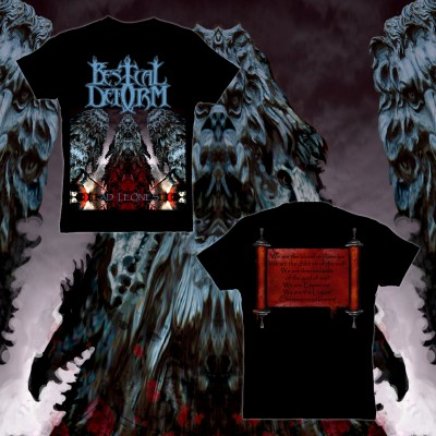 013SAT: T-Shirt - Bestial Deform