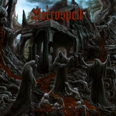032GD / MURDHER 030: Necrospell - Awakening Of Tyrants (2018)