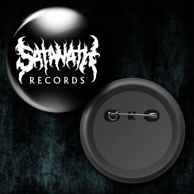 032SAT: Badge - Satanath Records (Big)