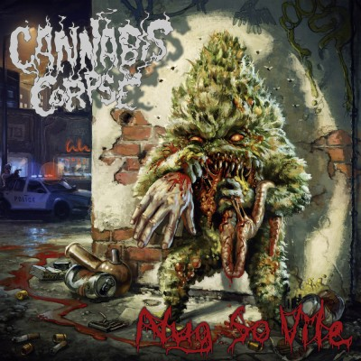 050GD / KTTR CD 152: Cannabis Corpse - Nug So Vile (2019)
