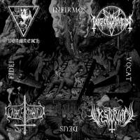 SODP062 / BPR071: Wormreich / Diabolus Amator / Gravespawn / Vesterian - Infirmos Vocat Deus Fidei [split] (2016)