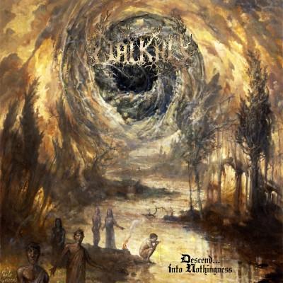SAT123 / DR 018 CD: Dalkhu - Descend... Into Nothingness (2015)