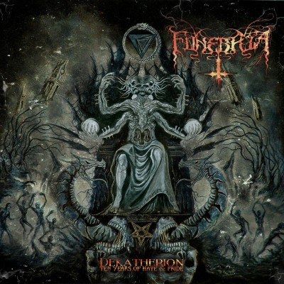 SAT129 / DR 021 CD: Funebria - Dekatherion: Ten Years Of Hate & Pride (2015)