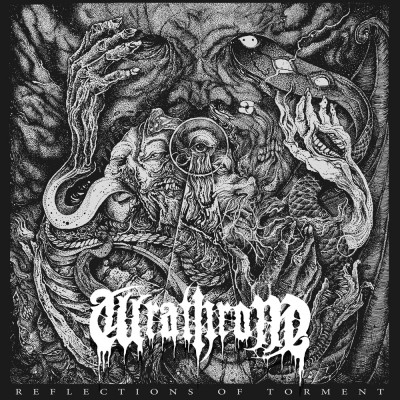 SAT197 / VOIDR01: Wrathrone - Reflections Of Torment (2018)