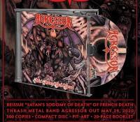 Agressor - Satan's Sodomy Of Death