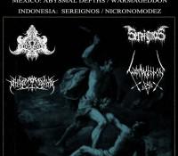 Abysmal Depths / Nicronomodez / Sereignos / Warmageddon
