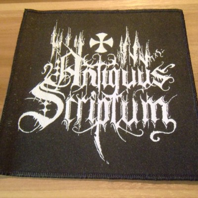 Patch - Antiquus Scriptum (Logo)