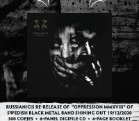 Shining - Oppression MMXVIII
